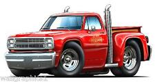 1979 Dodge Truck LIL RED EXPRESS PIckup Wall Decal Sticker Graphic Home Decor