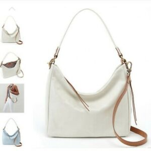 NWT Hobo Delilah Latte Leather Tote