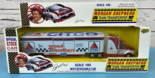 Road Champs Morgan Shepherd Team Transporter 1992 1:64 NASCAR NEW SEALED NOS