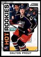 2012-13 Score Hot Rookies Dalton Prout #530