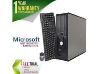 DELL Desktop Computer OptiPlex GX755 Core 2 Duo E6550 (2.33 GHz) 4 GB DDR2 1 TB