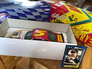Terry labonte #5 Kellogg's 1999 Monte Carlo 1:24 ACTION NASCAR DIECAST Bank Card