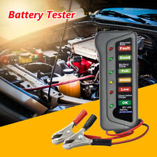 12V Auto Digital Battery Tester Alternator 6 LED Light Car Diagnostic Tool