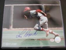 Lou Brock Autograph / Signed 8 X 10 Photo St. Louis Cardinals