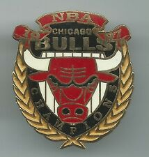 NBA Chicago Bulls Pin Stamped 1997 Imprinted Products Wreath Jordan