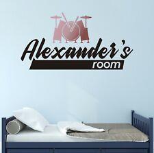 "Custom Alexander""s Wall Decal Sticker Vinyl Lettering Black CUSTOM COLORS M1333"