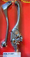Flanders Honda CBR 600 F1 F2 F3 900RR Carbon Fiber Look Brake Clutch Lever 11301