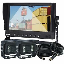 "Veise 9"" Rear View Back Up Camera System Vision Solution for Forklift, Motorhome"