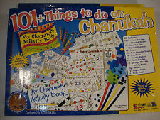 101+ Things To Do On Chanukah Rite Lite Family Fun Kit Kids Crafts Ages 6+ Game