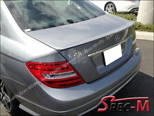 Mercedes W204 C300 C350 Sedan C63AMG Style Painted 792 Silver Trunk Spoiler Wing