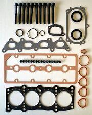HEAD GASKET SET & BOLTS FIAT BRAVA BRAVO 80 PUNTO 1.2 16V 1999-02 188A5 DOHC