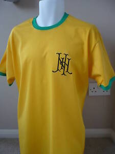RETRO Newton Heath(Man Utd)Embroidered Football T-Shirt