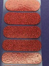 Jamberry Half Sheet - Cherry Ice - Rare - Retired Sparkly