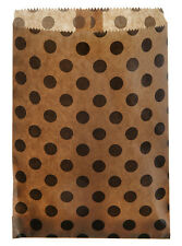 Bolsa de papel con puntos-Kraft
