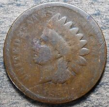 1865 Indian Head Cent! Circulated condition! Rare date, c484