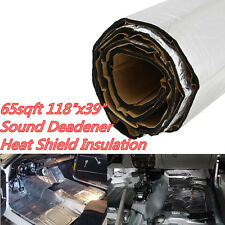 65sqft Firewall Sound Deadener Car Heat Shield Insulation Deadening Material Mat