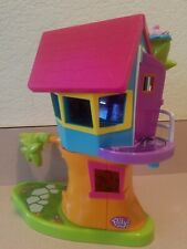 Euc Polly Pocket Tree House Playset 2002