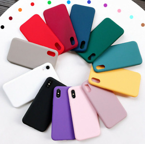 Case For iPhone 12 11 Pro Max SE 2 XR X XS Max 7 8 Plus Soft Silicone Shockproof