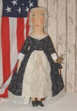 Primitive Folk Art Americana Martha Washington Doll Pattern