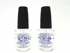 OPI Nail Treatment Start-To-Finish Base,Top,Strengthener .5oz NO BOX ~2 Bottles~