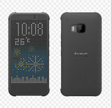 HTC Dot View Phone Case for HTC One M8 - Dark Grey