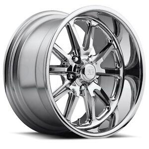 One 20x8 US Mags U110 Rambler 5x114.3 1 Chrome Wheel Rim 72.56