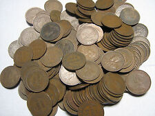 100 Australian George V Pennies Assorted Dates Not Checked for Varieties