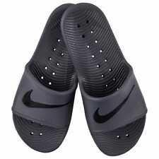 🌴 Nike Men's Kawa Shower Gray Slides Sandals Flip Flops Size 10 NEW 🌴