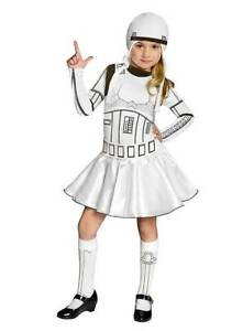 Rare! AUTHENTIC STAR WARS STORMTROOPER COSTUME / COSPLAY FOR GIRLS