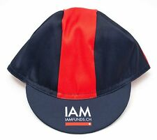 Cuore Adult Classic Road Bike Cycling Cap 3 Panel One Size Team IAM Pro Cycling