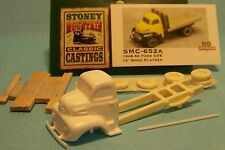 SMC-652A 1948-50 Ford Truck w/12' Wood Bed  HO-1/87th Scale White Resin Kit
