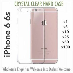 iPhone 6 6s crystal clear thin hard case wholesale