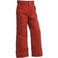 Wed'ze by Decathlon Kid's Red Welcome To Winter Waterproof Ski Snow Pants