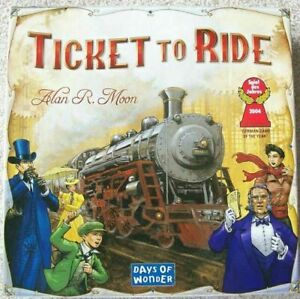 Ticket to Ride Board Game Days Of Wonder New Sealed Christmas Railway Cities
