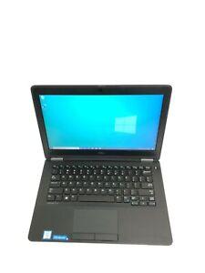 """Dell Latitude E7270 12.5"""" Core i5 6300U 2.4GHz 8GB RAM 256GB SSD Win 10 Pro"""