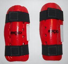 Macho Adult Red Arm Protectors MMA Taekwondo Judo Karate