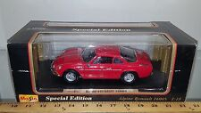 1/18 MAISTO SPECIAL EDITION 1971 ALPINE RENAULT 1600S RED with BLACK INTERIOR rd