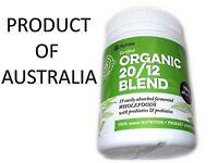 150g NUFERM ORGANIC 2012 BLEND 20 Powder Probiotics CERTIFIED ORGANIC