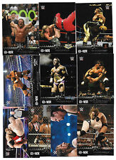 2015 Topps WWE Road to Wrestlemania HHH Triple H INSERT Card set  (10 Cards)