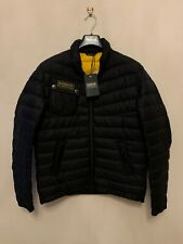 Barbour Men's Chain Quilted Baffle Jacket, Black Size M New With Tags RRP £159