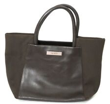 TUMI Brown Leather Tote Bag