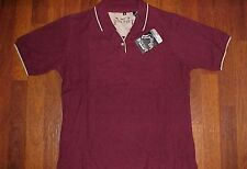 Rock Point Corporate Apparel RP-502 Ladies Cotton Maroon Golf Polo Shirt S New