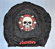ICON Contra Sacrifice Armored Motorcycle Jacket Size XL with Liner