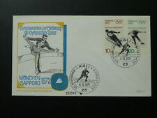 olympic games Munchen 1972 figure skating FDC Germany 68515