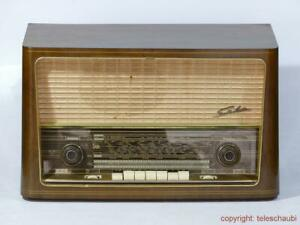 SABA - Wildbad 9, 1958/1959, Röhrenradio