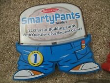 Melissa & Doug SmartyPants 1st Grade quiz and game cards, Euc