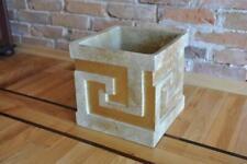 XXL Decoration Vase Floral Design Table Pot Antique Room 30cm Bucket
