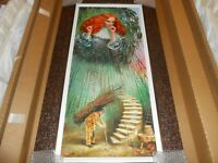 """MICHAEL CHEVAL  """"MISGIVEN THOUGHT""""  FRAMED HAND-SIGNED NUMBERED LIMITED EDITION"""