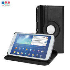"""PU Tablet Leather Keyboard Case Cover For Samsung Galaxy Tab 3 8 8.0 T310 8"""" US"""