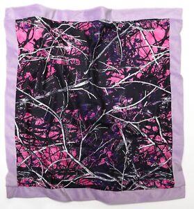 Muddy Girl Camouflage Baby Blanket, Moonshine Camo Pink Purple Girl